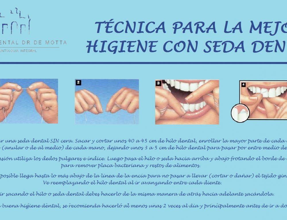Cómo utilizar la seda dental correctamente para una mejor higiene